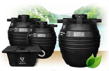 ถังบำบัดน้ำเสียและถังดักไขมัน