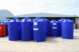 ถังเก็บน้ำบนดินและถังเก็บสารเคมี